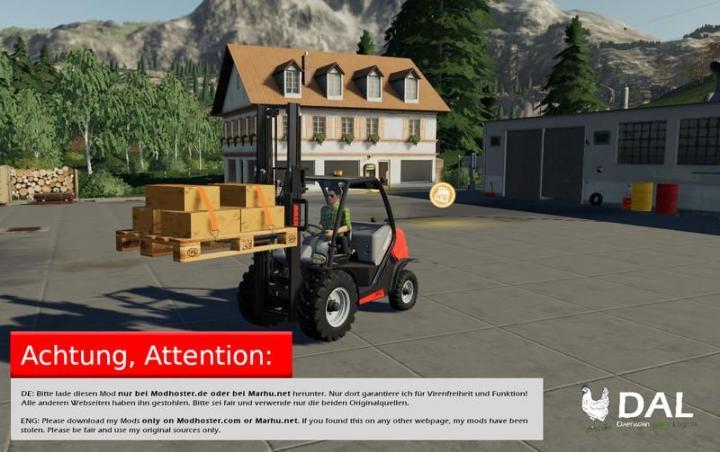 FS19 - Europoolpallet V1 1   Simulator Games Mods Download