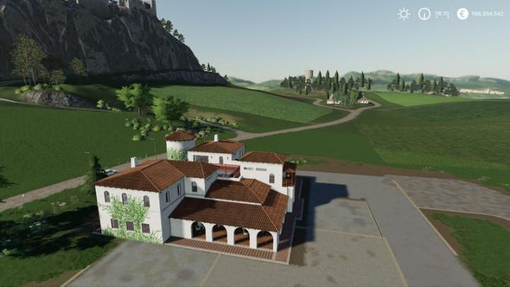 Car Simulator Games >> FS19 - Farmhaus Estancia Lapacho Map V1 | Simulator Games Mods Download