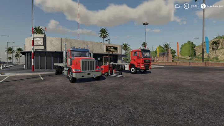 Long Haul Trucking >> FS19 - Flatdeck Transport Pack V1 | Simulator Games Mods ...