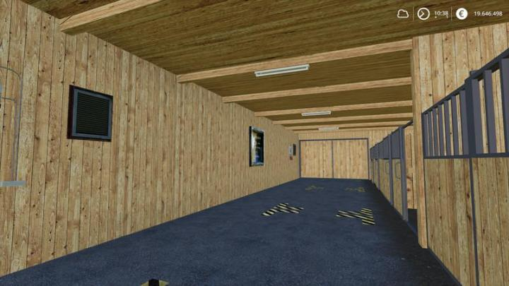 Fs19 Horse Stable With Boxes V1 Simulator Games Mods