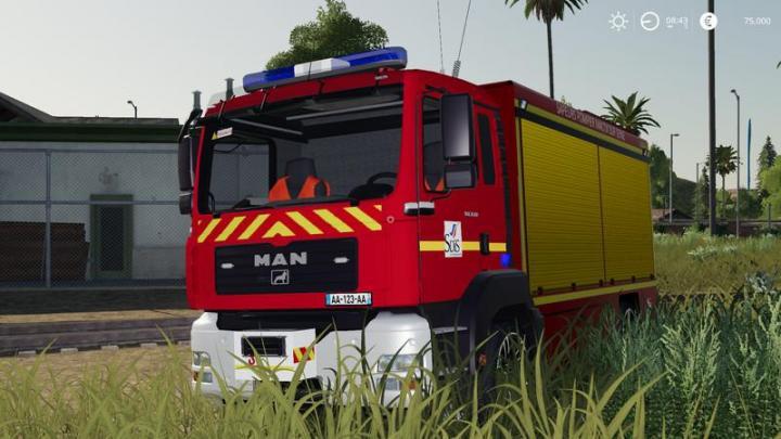 FS19 - Iveco Daily (Firefighter Kaltenkirchen) V1 ...