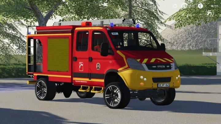 Car Driving Games >> FS19 - Iveco Daily (Firefighter Kaltenkirchen) V1 ...