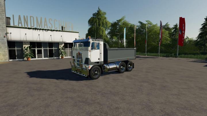 FS19 - Kenworth K100-K123 Truck V1   Simulator Games Mods ...