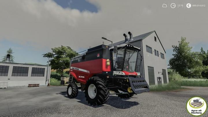 Car Simulator Games >> FS19 - Massey Ferguson Activa 7347 | Simulator Games Mods ...