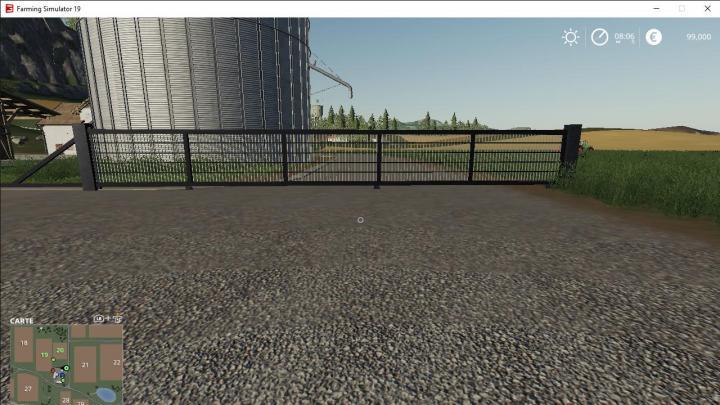 Car Simulator Games >> FS19 - Portail Coulissant V2 | Simulator Games Mods Download