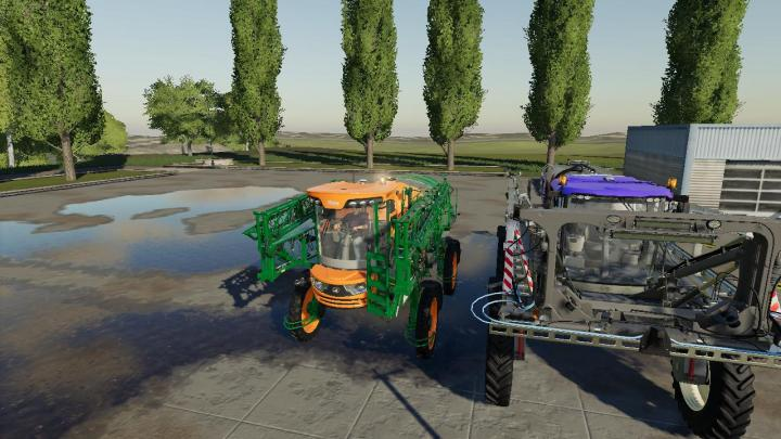 Car Simulator Games >> FS19 - Powered Sprayer Pack V1 | Simulator Games Mods Download