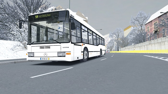 Omsi 2 - Mercedes-Benz 0405 Camo N2 Bus Mod | Simulator Games Mods