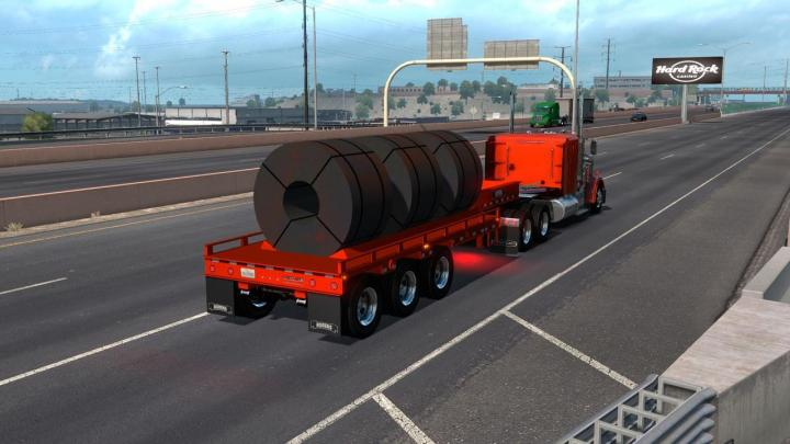 ATS - Rogers Fg65L Coil Trailer Ownable (1 34 x) | Simulator Games