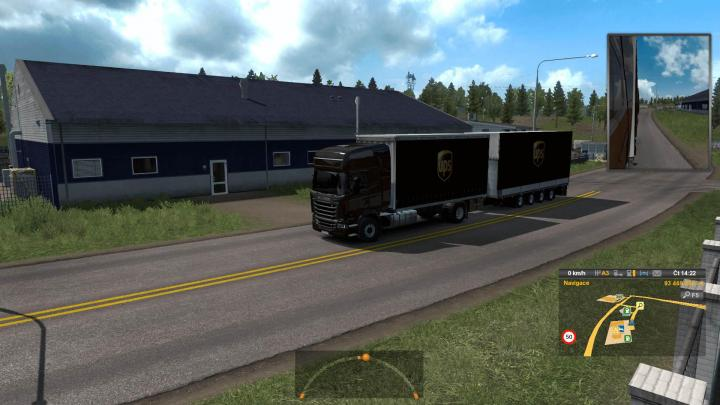 ETS2 - Devil Bdf Tandem Ups (1 33 x) | Simulator Games Mods