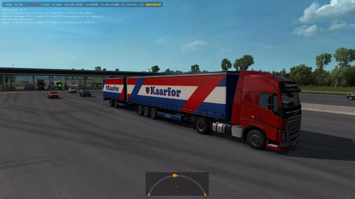 ETS2 - Double Trailers In Traffic (1 34 x)   Simulator Games