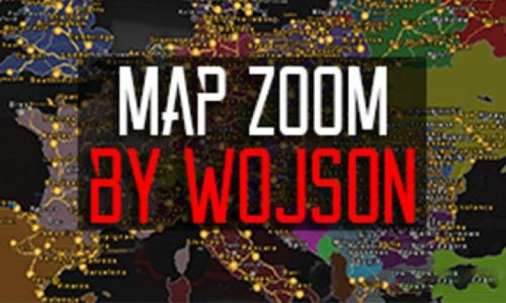 ETS2 - Map Zoom (1 34 x) | Simulator Games Mods Download