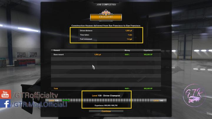 ATS - Start Money And Xp (1 34 x) | Simulator Games Mods Download