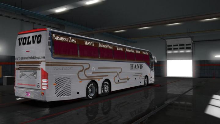 ETS2 - Volvo 9700 And 9400 Bus Hanif Bus Skin + 4 Euro Skin