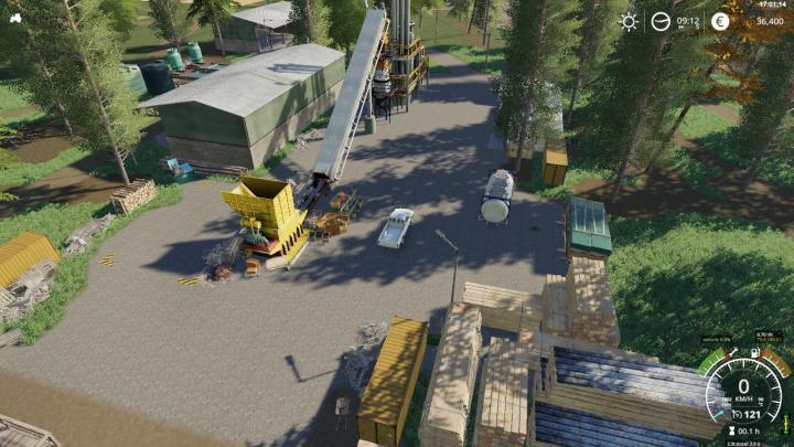 6 Door Truck >> FS19 - Belgique Profonde Map V1.2 | Simulator Games Mods ...