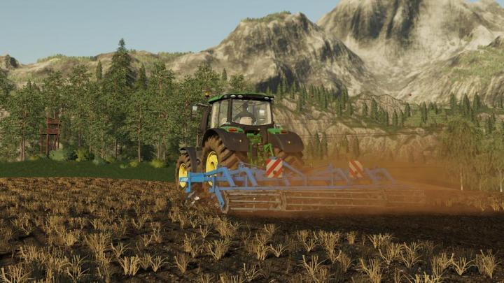 FS19 - Bvt T-Rex Cultivator V1 | Simulator Games Mods Download
