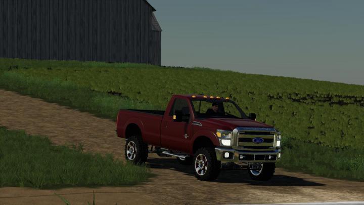 FS19 - Ford F350 Regular Cab 2011 V1 | Simulator Games Mods Download