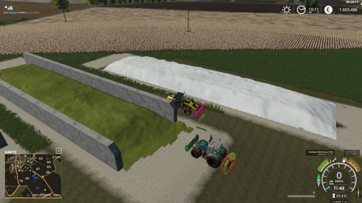 FS19 - Freiland Silo | Simulator Games Mods Download