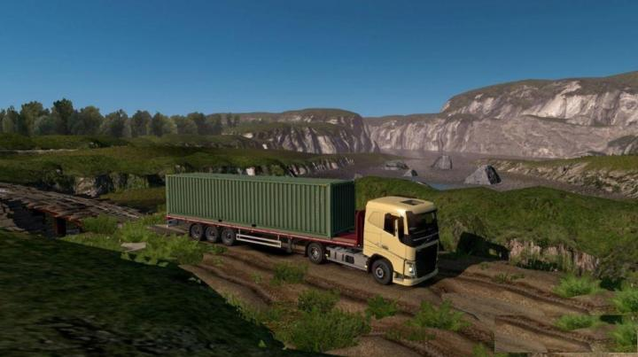ETS2 – Republic Of Aloma And Beyond The Baltic Sea (1 34 x