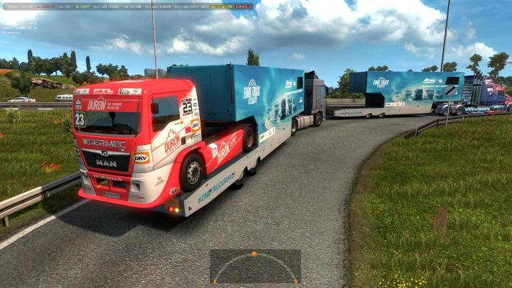 ETS2 - Scs Etrc Trailers In Ai Traffic (1 34 x) | Simulator