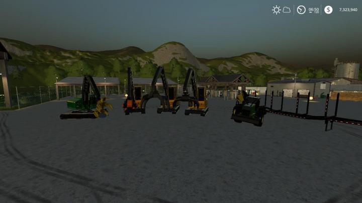 FS19 - Complete Fdr Logging Mod Pack   Upadted V1 1 2