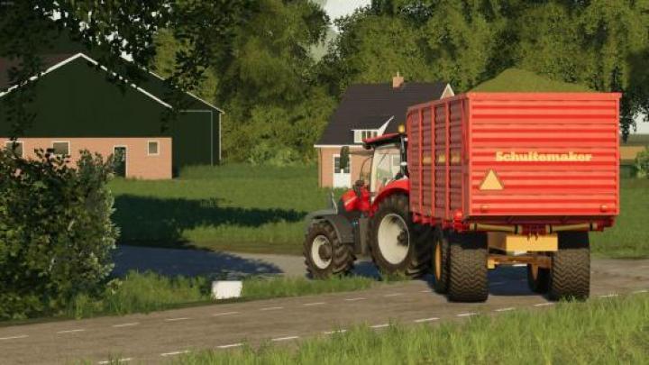 FS19 - Schuitemaker Sw 180 Trailer V1 | Simulator Games Mods Download
