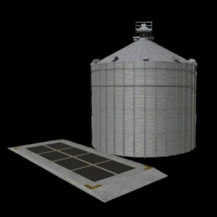 FS19 - Silo With Multifruit | Simulator Games Mods Download