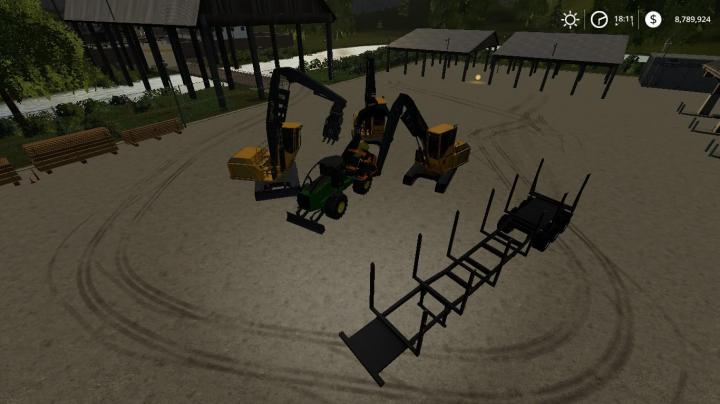 FS19 - Updated Fdr Logging Equipment V1 1 | Simulator Games