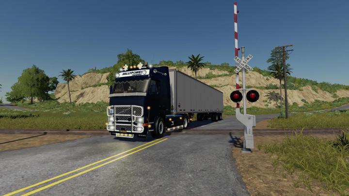 FS19 - Volvo Fh12 Truck V1 | Simulator Games Mods Download
