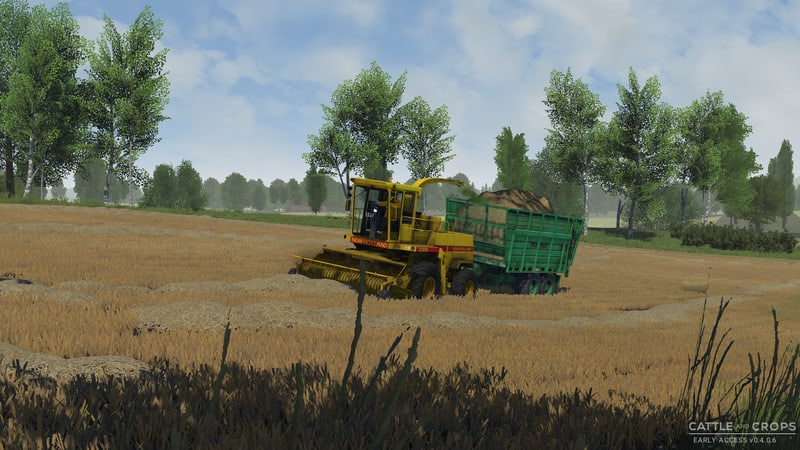 Cattle And Crops - New Holland 2305 Forage Harvester V0 1