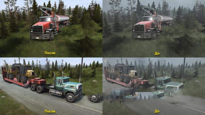 SpinTires Mudrunner - Realistic Lossless Graphics v1 3