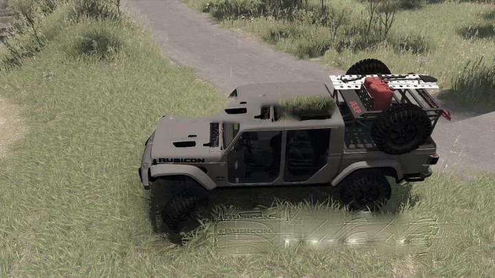 SpinTires - 2020 Jeep Gladiator v1.0 | Simulator Games ...