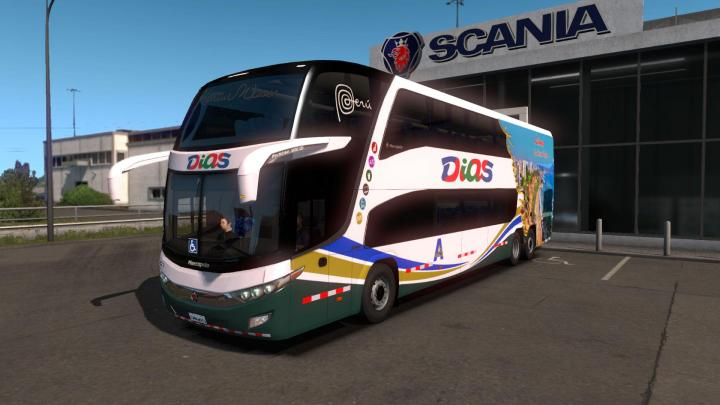 ETS2 - Mods Pack - Bus Pack (1 34 x) | Simulator Games Mods Download