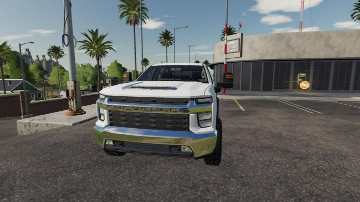 FS19 - 2020 Chevy Silverado 2500Hd Duramax V1 | Simulator ...