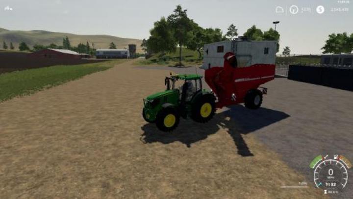 FS19 - Horsch Titan 34Uw Beta | Simulator Games Mods Download