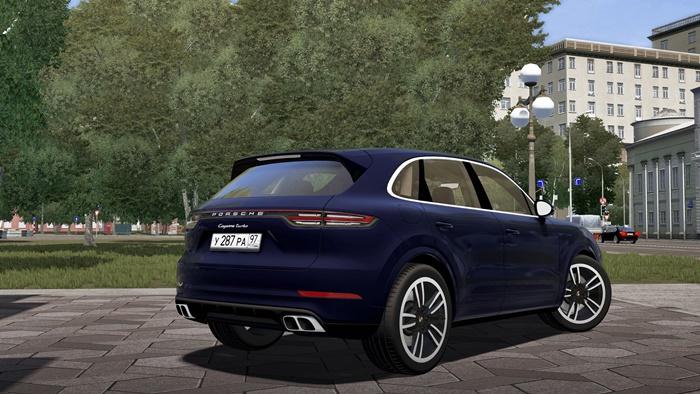 0bdbd9da587 City Car Driving 1.5.7 - Porsche Cayenne Turbo 2019 Car Mod ...