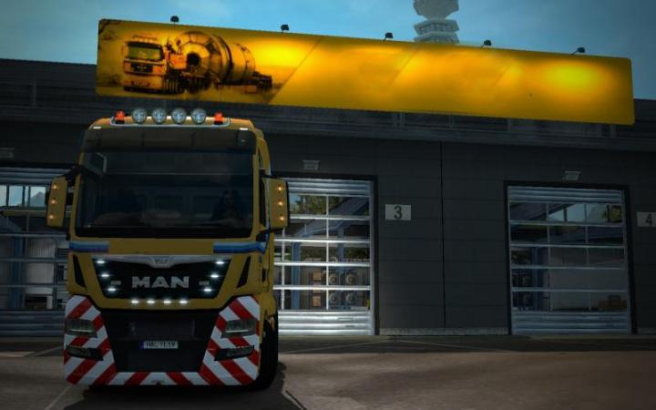 ETS2 - Low Cost Garages By Scs (1 34 x) | Simulator Games