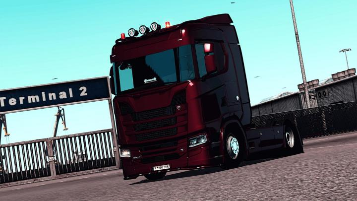 ETS2 - Reshade Graphics Add-On V2 (1 35 x) | Simulator Games