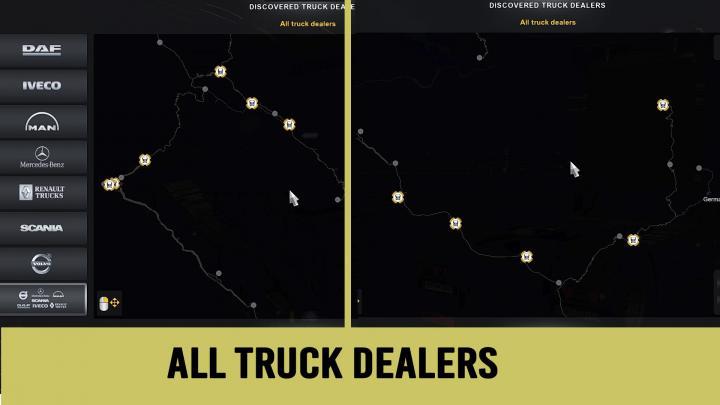 euro truck simulator 2 peru map download