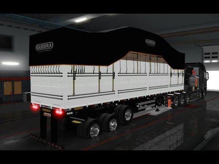 ETS2 - Trailer Pack V3 5 (1 35 x)   Simulator Games Mods