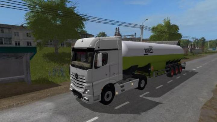 FS17 - Mercedes-Benz Actros Mp4   Simulator Games Mods Download