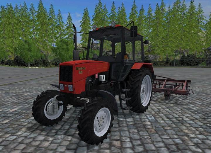 FS15 - Mtz-82 New Red Tractor V1 | Simulator Games Mods Download