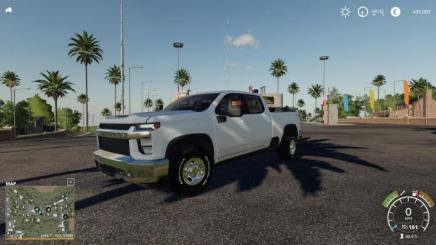 FS19 - City Service 2020 Silverado V1.1 | Simulator Games ...