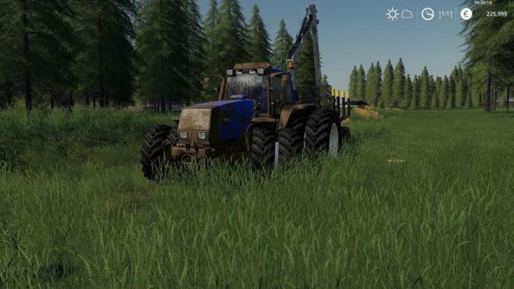 FS19 - Valtra Hitech 8050-8950 V1   Simulator Games Mods Download