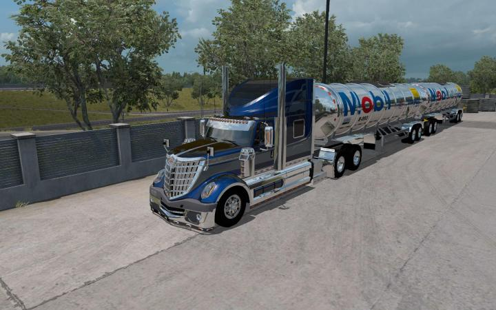 ATS - Gasero Gas Trailers V1 (1 35 x)   Simulator Games Mods