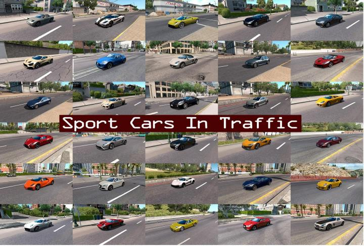 Motorcycle Traffic Pack by Jazzycat v3.0 ATS for ATS