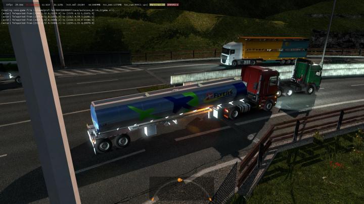 ETS2 - B4Rt Heil Tanker Trailer 2Axles In Traffic (1 35 x