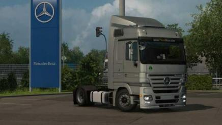 Car Simulator Games >> ETS2 - Mercedes-Benz Actros Mp2 (1.35.x) | Simulator Games ...