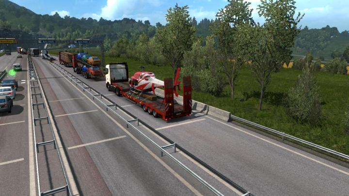 ETS2 - Scs Semitrailers In Traffic (1 35 x) | Simulator