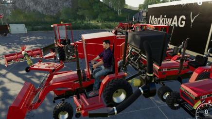 Fs19 Case Ih 235 Lawn Tractor And Car Hauler Mod Pack V2