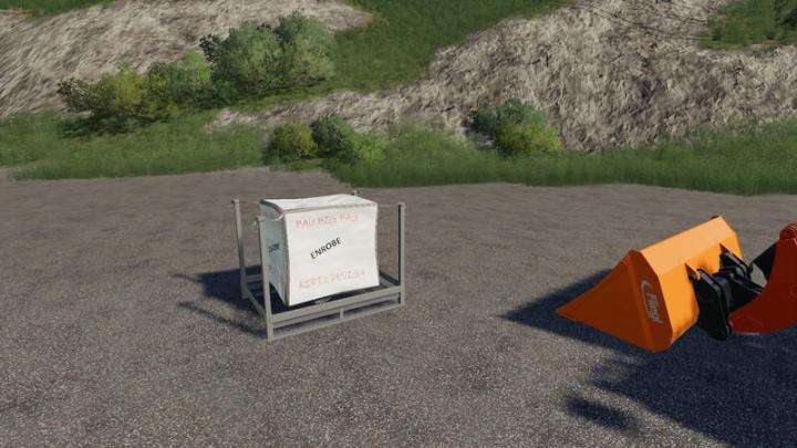 Car Simulator Games >> FS19 – Construction Big Bag V1 | Simulator Games Mods